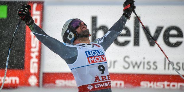 Aksel Lund Svindal.  FRANCOIS XAVIER MARIT / AFP