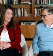 Melinda och Bill Gates/Arkivbild Elaine Thompson / TT NYHETSBYRÅN