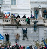 Bild från stormningen den 6 januari Jose Luis Magana / TT NYHETSBYRÅN