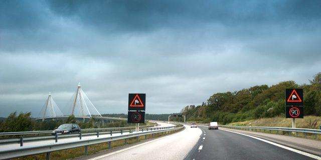 Arkivbild. Uddevallabron en blåsig dag 2011. BJÖRN LARSSON ROSVALL / TT / TT NYHETSBYRÅN