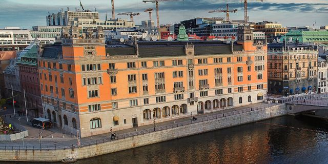 Rosenbad i Stockholm. Jonas Ekströmer/TT / TT NYHETSBYRÅN
