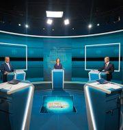 De tre kandidaterna. Michael Kappeler / TT NYHETSBYRÅN