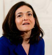 Sheryl Sandberg.  Thibault Camus / TT NYHETSBYRÅN/ NTB Scanpix