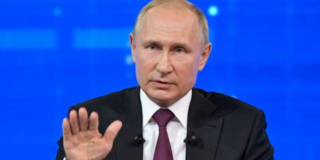 Vladimir Putin.  SPUTNIK / TT NYHETSBYRÅN