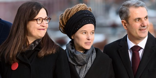 Amanda Lind (MP) Naina Helén Jåma/TT / TT NYHETSBYRÅN