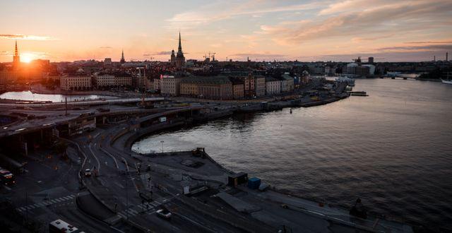 Stockholm.  Vilhelm Stokstad/TT / TT NYHETSBYRÅN