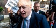 Boris Johnson. NIKLAS HALLE'N / AFP