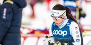 Charlotte Kalla under Tour de Ski i Val di Fiemme i januari. MATHIAS BERGELD / BILDBYRÅN