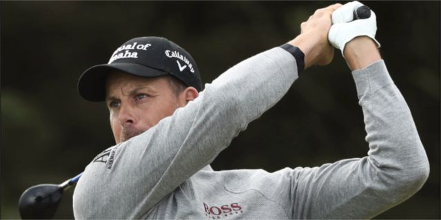 Henrik Stenson under British Open 2019 TT