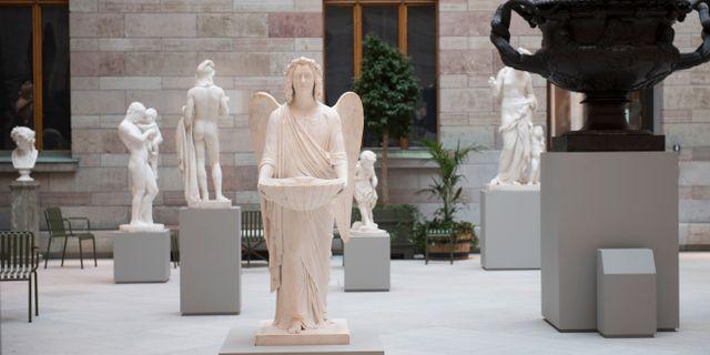 Nationalmuseum. Fredrik Sandberg/TT / TT NYHETSBYRÅN