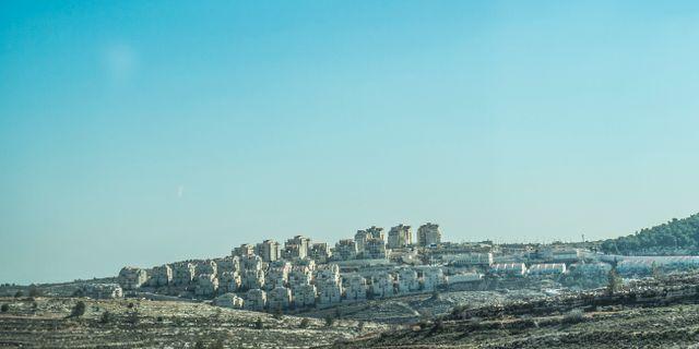 Israelisk bosättning på Västbanken. Yvonne Åsell/SvD/TT / TT NYHETSBYRÅN