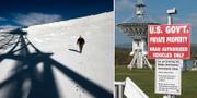 Radioteleskopet i Green Bank.  TT.