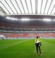 Al Bayt stadium som byggts inför VM 2022.  KAI PFAFFENBACH / BILDBYRÅN