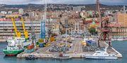 Rijeka är Kroatiens tredje största stad och har landets största hamn. Bengt Nyman/Wikicommons