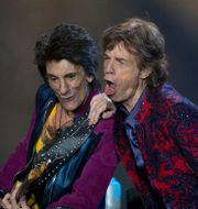 Ron Wood och Mick Jagger. Eduardo Verdugo / TT / NTB Scanpix