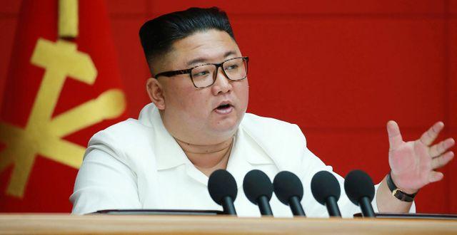 Kim Jong-Un. TT NYHETSBYRÅN