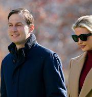 Jared Kushner och Ivanka Trump.  Patrick Semansky / TT NYHETSBYRÅN