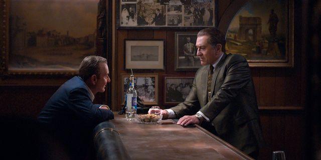 """Joe Pesci och Robert De Niro i """"The Irishman"""". Niko Tavernise / TT NYHETSBYRÅN"""