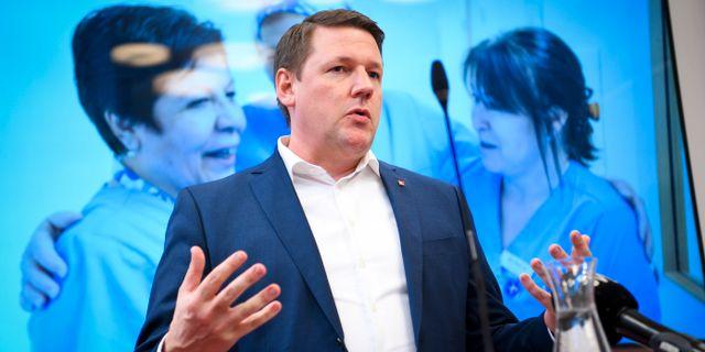 Tobias Baudin. Fredrik Sandberg/TT / TT NYHETSBYRÅN