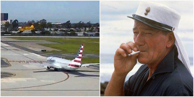 John Wayne Airport, John Wayne 1965. TT