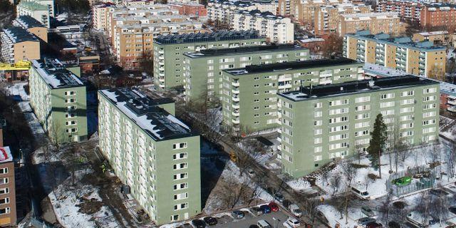 Rinkeby är en av de berörda stadsdelarna. Fredrik Sandberg/TT / TT NYHETSBYRÅN