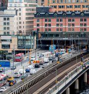 Söderledstunneln i Stockholm. Christine Olsson/TT / TT NYHETSBYRÅN