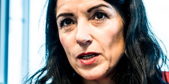 Vänsterpartiets Amineh Kakabaveh. Magnus Hjalmarson Neideman/SvD/TT / TT NYHETSBYRÅN