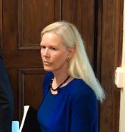 Tidigare Kinaambassadören Anna Lindstedt i Stockholms tingsrätt. Janerik Henriksson/TT / TT NYHETSBYRÅN