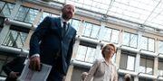 Charles Michel och Ursula von der Leyen. Yves Herman / TT NYHETSBYRÅN
