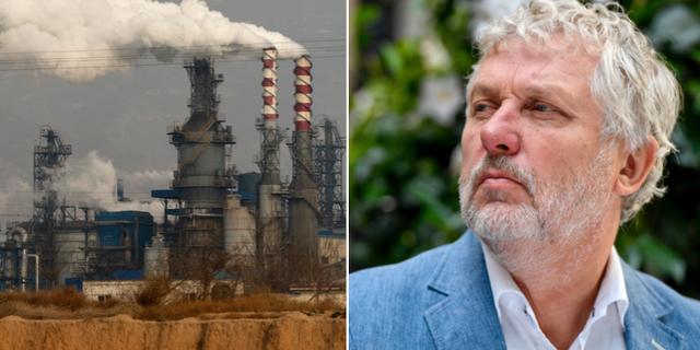 Fabrik i Kina/Peter Eriksson (MP). TT