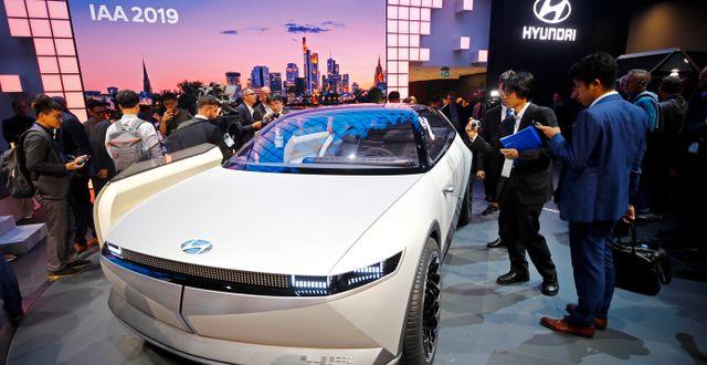 Illustrationsbild: Hyundais 45 Concept visas upp på Frankfurt Motor Show, september 2019.  WOLFGANG RATTAY / TT NYHETSBYRÅN