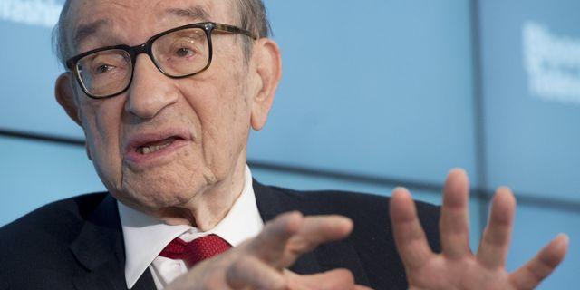 Alan Greenspan.  SAUL LOEB / AFP