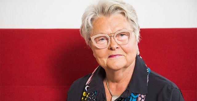 Eva Eriksson, förbundsordförande i seniororganisationen SPF.