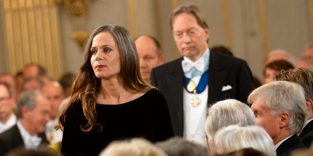 Sara Danius och Horace Engdahl, Svenska Akademien. JONAS EKSTRÖMER / TT / TT NYHETSBYRÅN