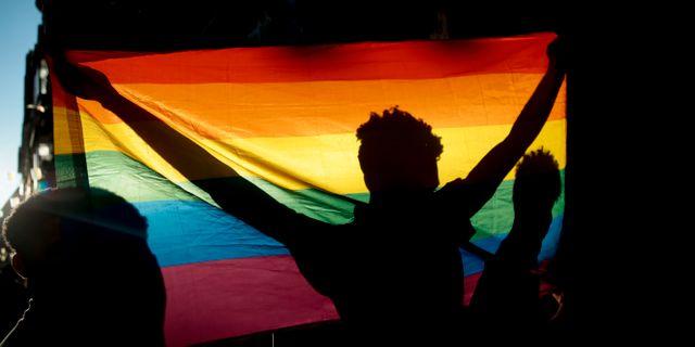 Illustrationsbild, Pridefestival i Spanien. Andrea Comas / TT NYHETSBYRÅN/ NTB Scanpix