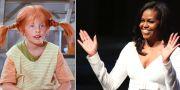 Pippi var Michelle Obamas barndomshjälte. TT