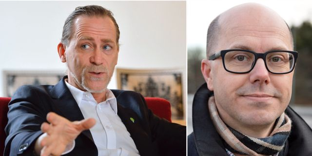 Daniel Helldén/Jonas Eliasson.  TT