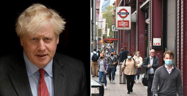 Boris Johnson. London. TT