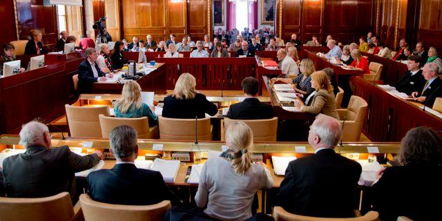 Arkivbild från Göteborgs kommunfullmäktige. ADAM IHSE / TT / TT NYHETSBYRÅN