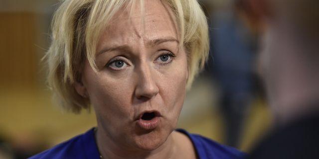 Helene Hellmark Knutsson (S), minister för högre utbildning och forskning Noella Johansson / TT NYHETSBYRÅN