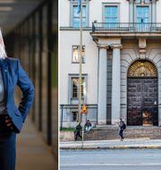 Magdalena Andersson och Handelshögskolan Lars Pehrson/SvD/TT och Sofia Ekström/SvD/TT