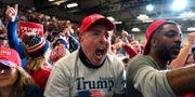 Trump-anhängare.  Evan Vucci / TT NYHETSBYRÅN