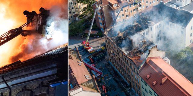 Branden i Malmö. TT
