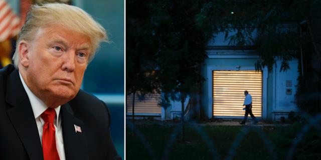 Trumps tal om sverige fick staende ovationer