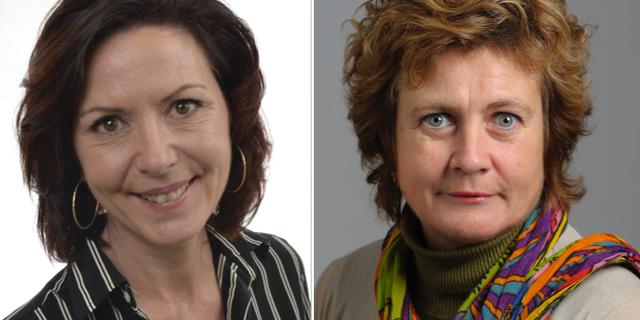 Cecilie Tenfjord-Toftby och Cecilia Magnusson. Riksdagen