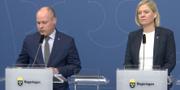 Morgan Johansson och Magdalena Andersson  Regeringen