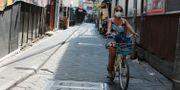 Bild från Bali, Indonesien.  Firdia Lisnawati / TT NYHETSBYRÅN
