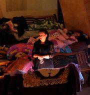 Skyddsrum i Nagorno-Karabach. TT NYHETSBYRÅN