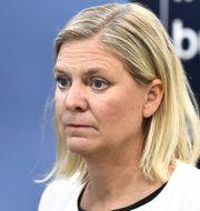 Magdalena Andersson (S). Claudio Bresciani/TT / TT NYHETSBYRÅN