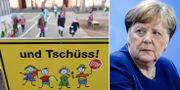 Förskola i Tyskland/Angela Merkel. TT